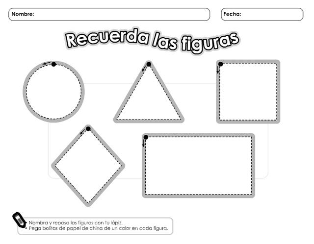 Las Figuras geométricas para imprimir archivos | Material para ...