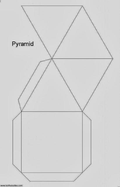 Recortables-de-figuras-geométricas-Pirámide