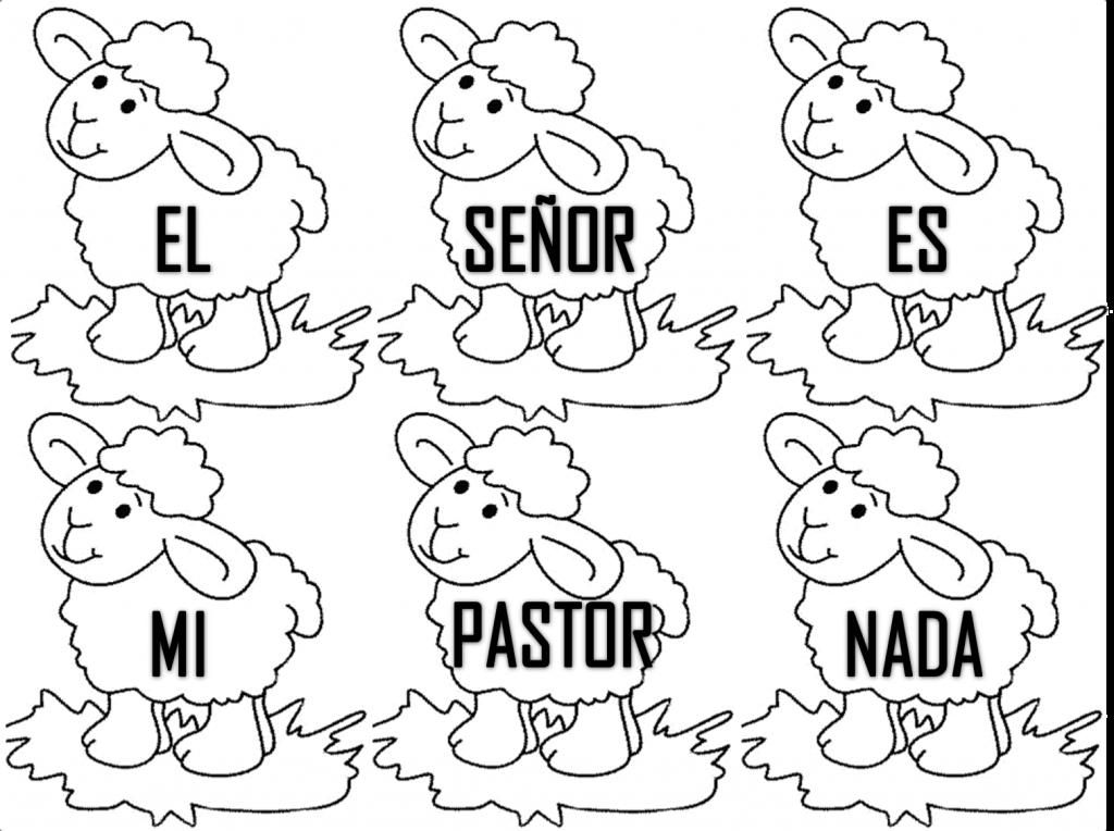 Imágenes para pintar para niños cristianos | Material para maestros ...