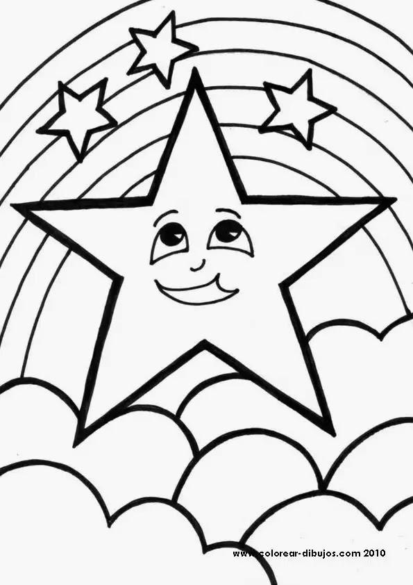Estrellas Para Imprimir Colorear Y Recortar Material Para Maestros