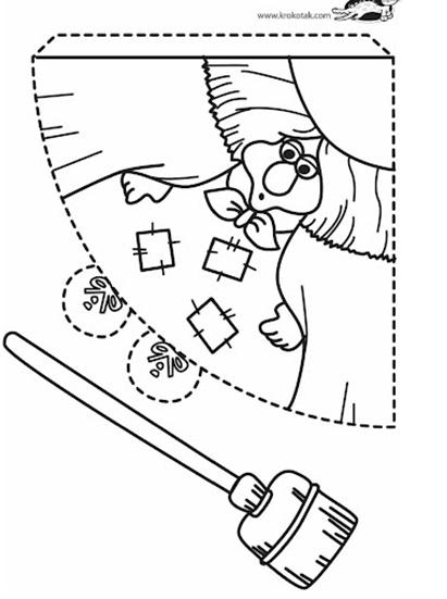 Fichas Con Figuras Geometricas Para Armar Dibujos