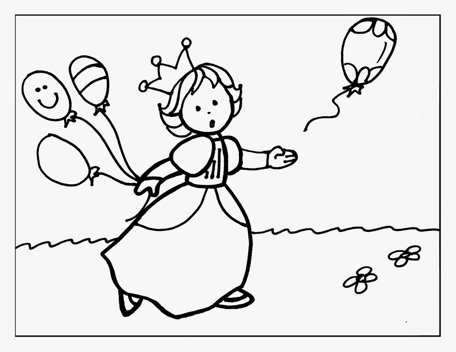 Princesas para Colorear | Material para maestros, Planeaciones ...