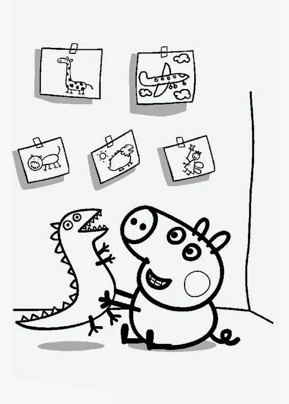 Imágenes Y Dibujos De Peppa Pig Para Imprimir Y Colorear