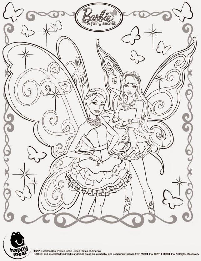Imágenes Y Dibujos De Barbye La Puerta Secreta Para Imprimir Y