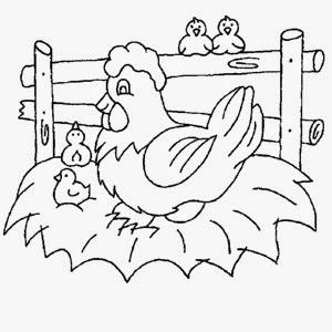 Imágenes Y Dibujos De Animales De Granja Para Colorear Material
