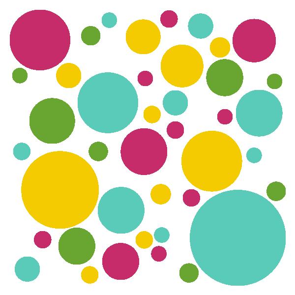 Objetos con forma de circulo y circunferencia material para maestros planeaciones ex menes - Papel decorativo infantil ...