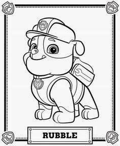 Imagenes Y Dibujos De Paw Patrol Para Imprimir Y Colorear