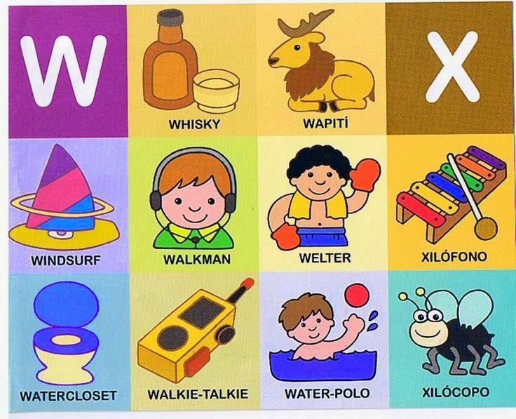 Palabras Que Inicien Con X En Español Para Niños Niños Relacionados