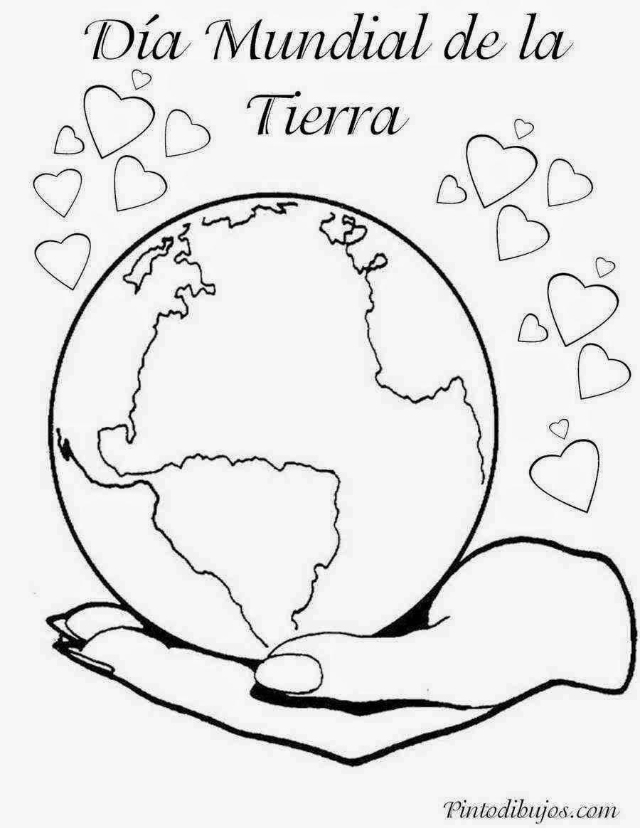 Dia Mundial Del Medio Ambiente Para Colorear Dia De La Tierra