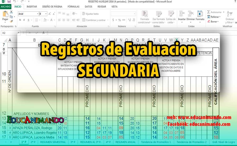 registros-de-evaluacion-secundaria
