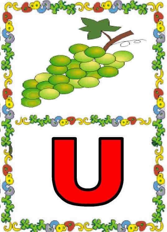 imagenes de objetos con comienzan con u4