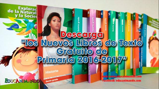 libros de texto gratuitos primaria 2017