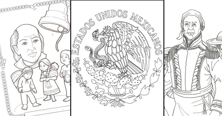 Imágenes Y Dibujos Para Colorear Sobre La Independencia De