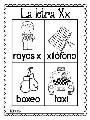 Letras Del Alfabeto Para Colorear E Imprimir Material Para
