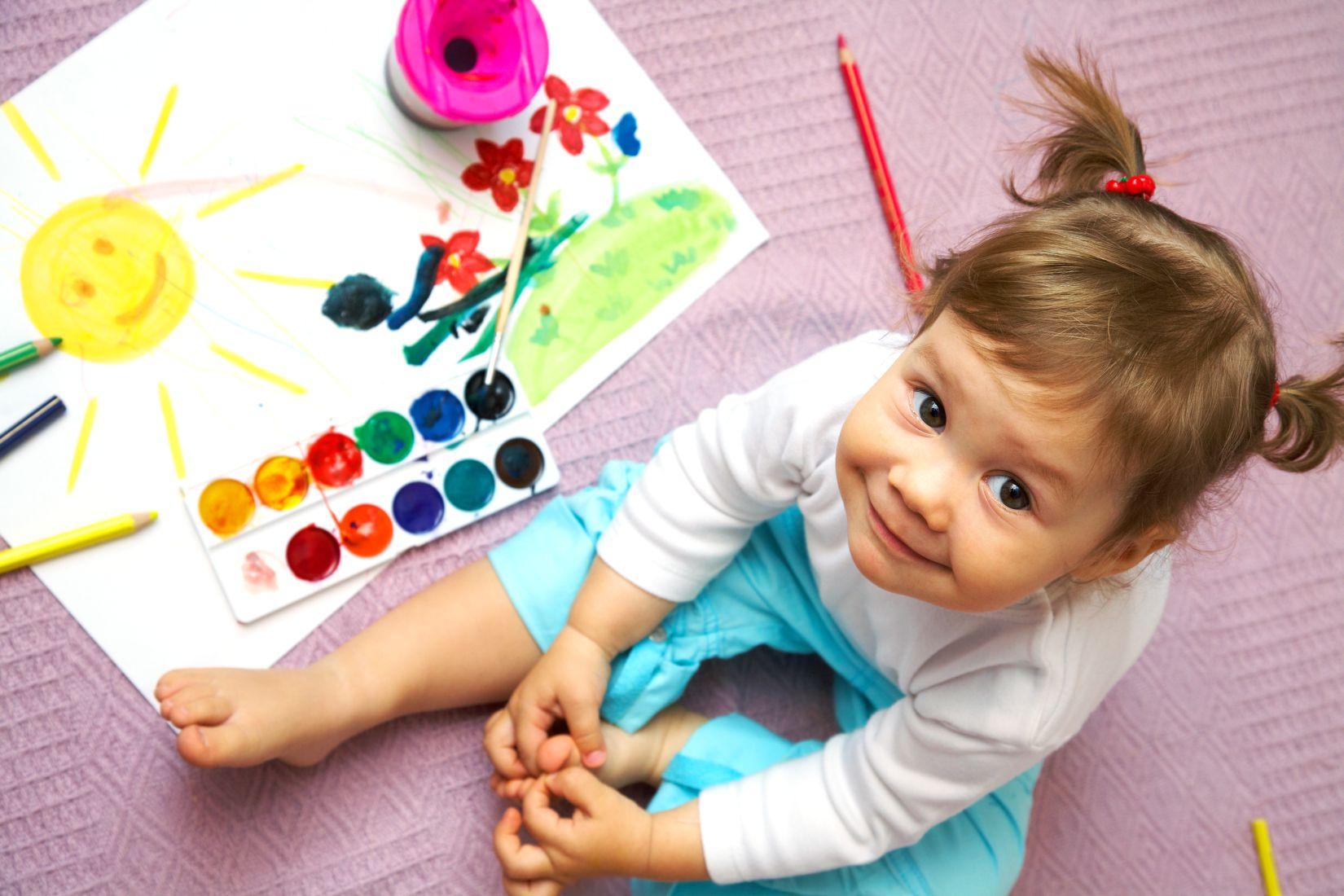 Variadas actividades para aprender los colores