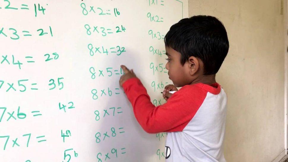 Divertidas y sencillas tablas para aprender a multiplicar