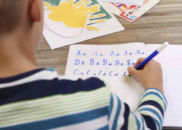 Caligrafía para niños en PDF